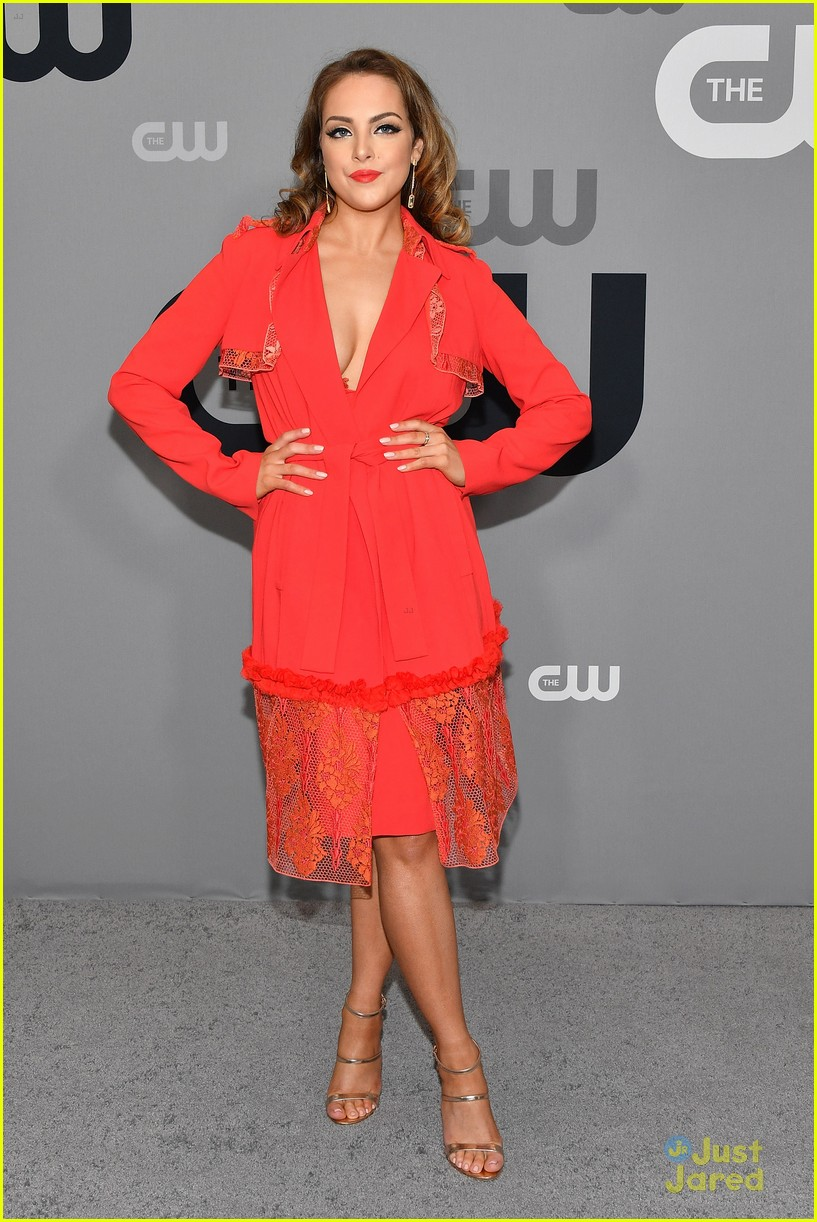 china mcclain nafessa wms liz gillies more cw upfront 16