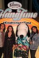 daniella perkins niki koss try new hangtime ride at knotts berry farm 17