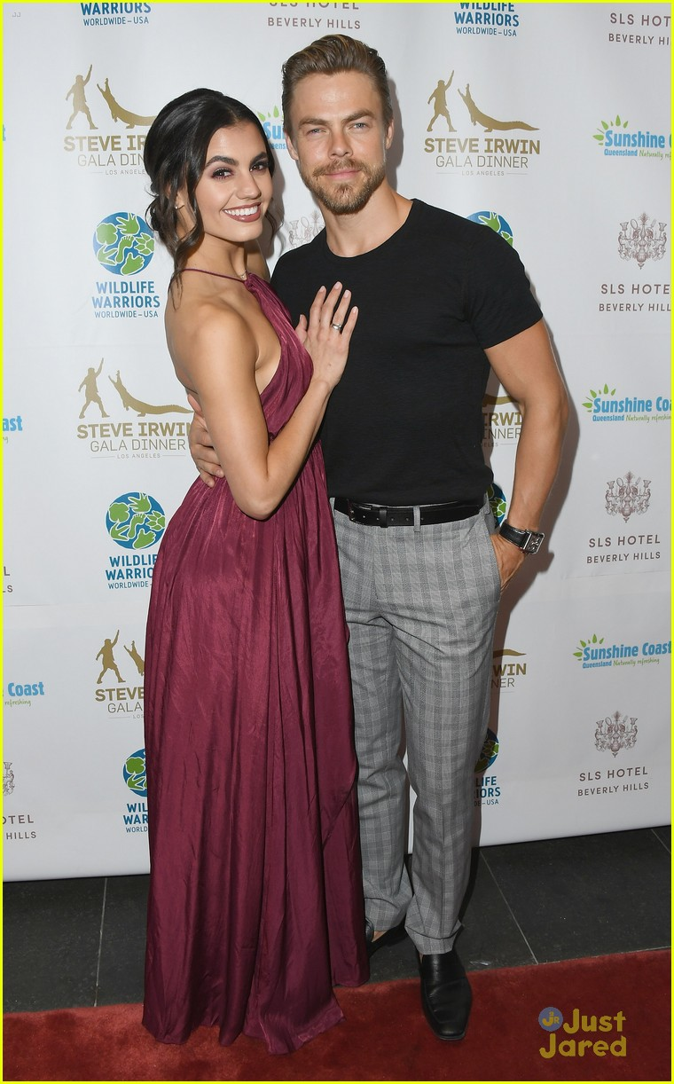 derek hough dotes over hayley erbert irwin gala 04