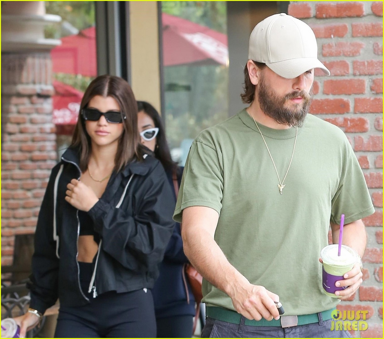 scott disick and sofia richie couple up for coffee bean run 04