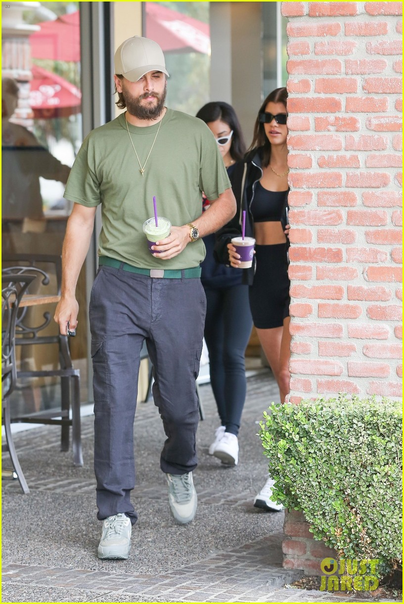 scott disick and sofia richie couple up for coffee bean run 05