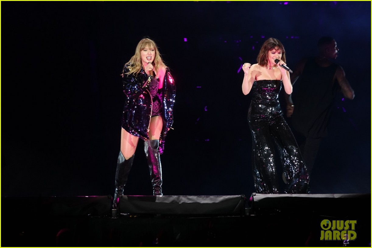 Taylor Swift is Joined by BFF Selena Gomez During Reputation