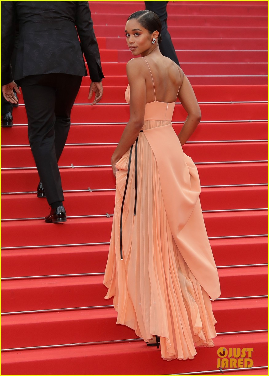 laura harrier blackkklansman cannes premiere 03