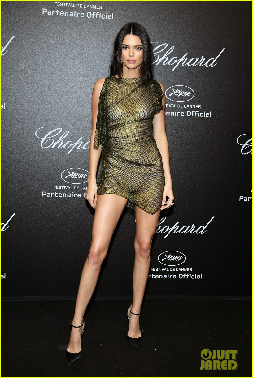Kendall Jenner Leaves Very Little To The Imagination At Chopard Event In Cannes 01