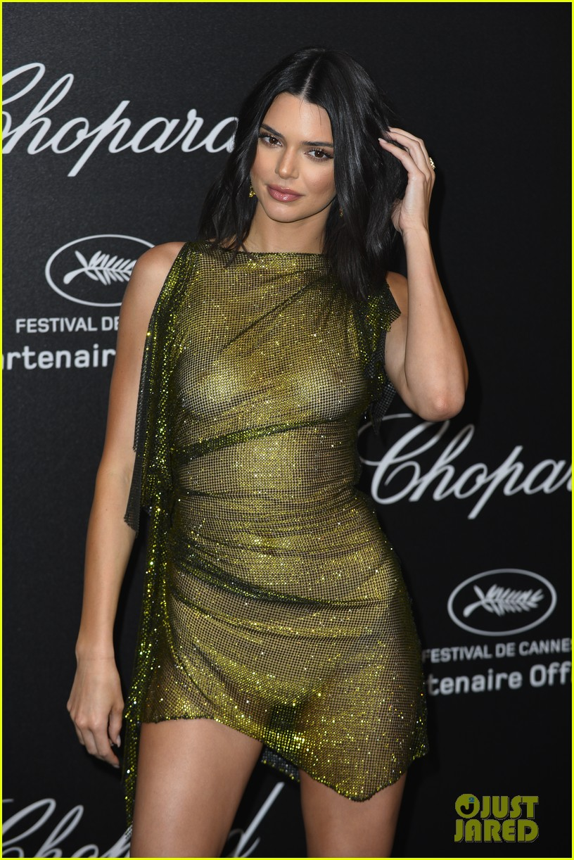 Kendall Jenner Leaves Very Little To The Imagination At Chopard Event In Cannes 11