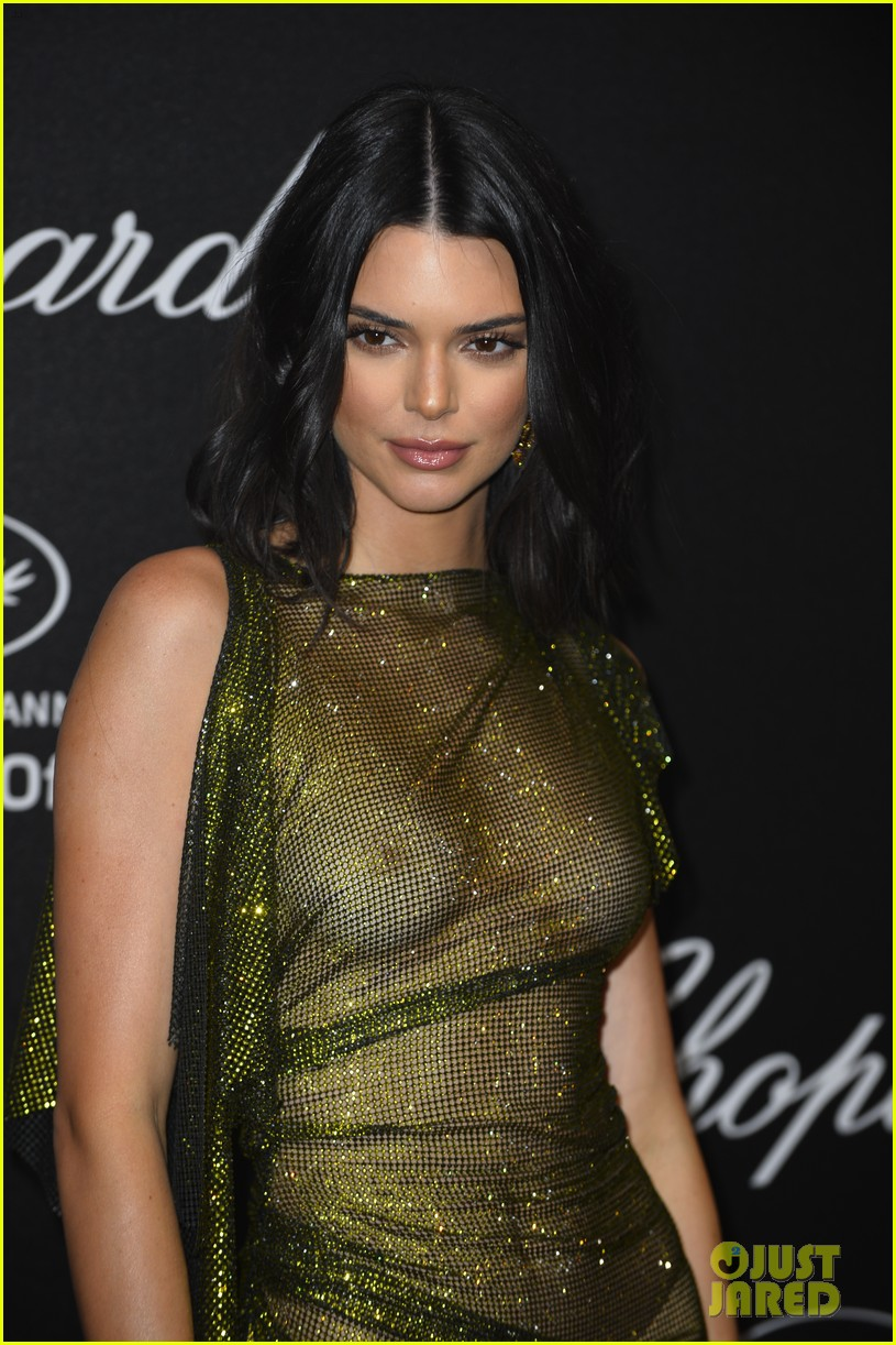 kendall jenner leaves very little to the imagination at chopard event in cannes 12