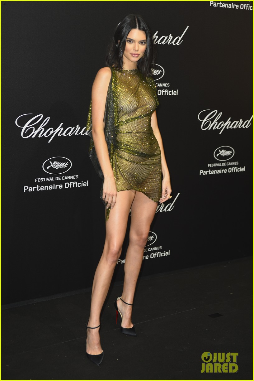 kendall jenner leaves very little to the imagination at chopard event in cannes 15