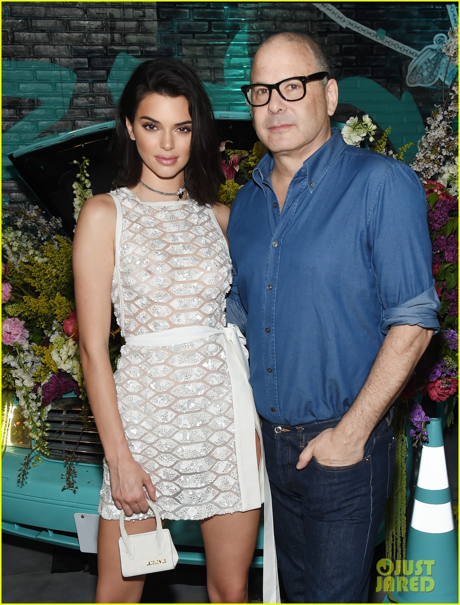 kendall jenner see through dress tiffany co event 25
