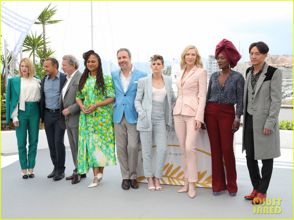 cate blanchet kristen stewart ava duvernay lea sedoux for cannes jury photo call 09