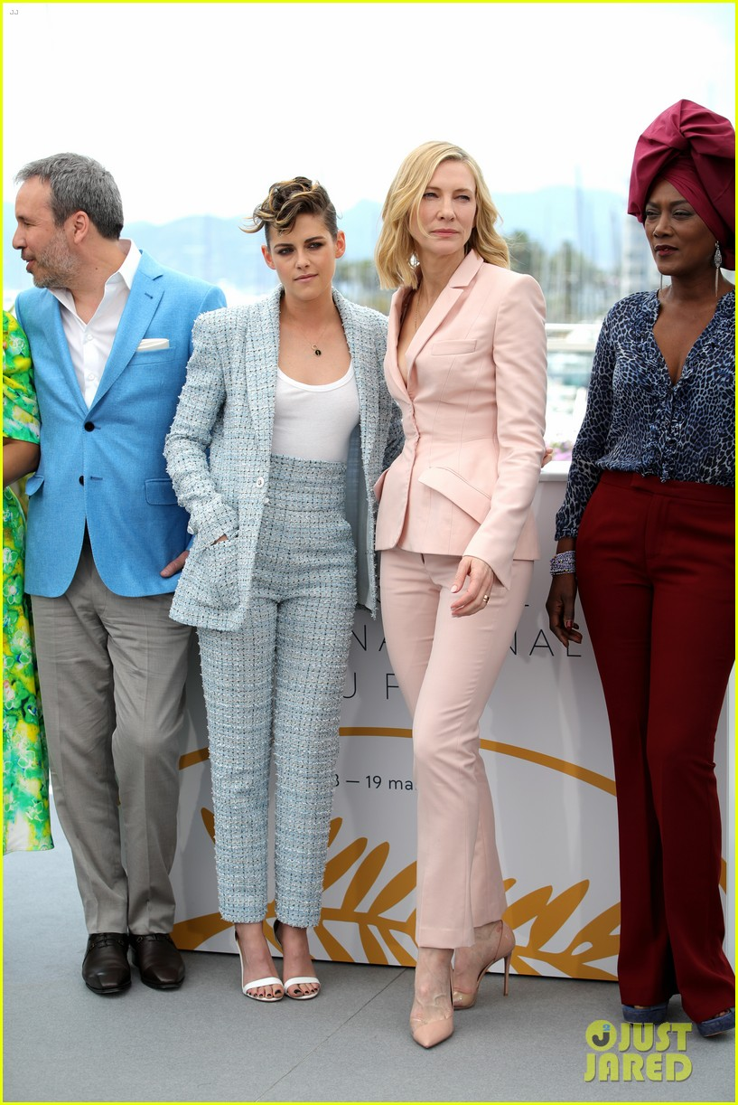 cate blanchet kristen stewart ava duvernay lea sedoux for cannes jury photo call 13