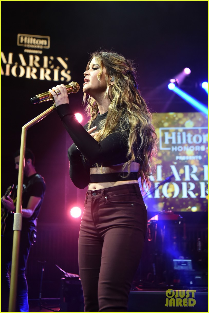 maren morris performs exclusive concert in nyc 01