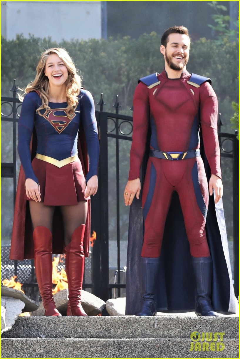 Melissa Benoist Amp Boyfriend Chris Wood Are Having So Much