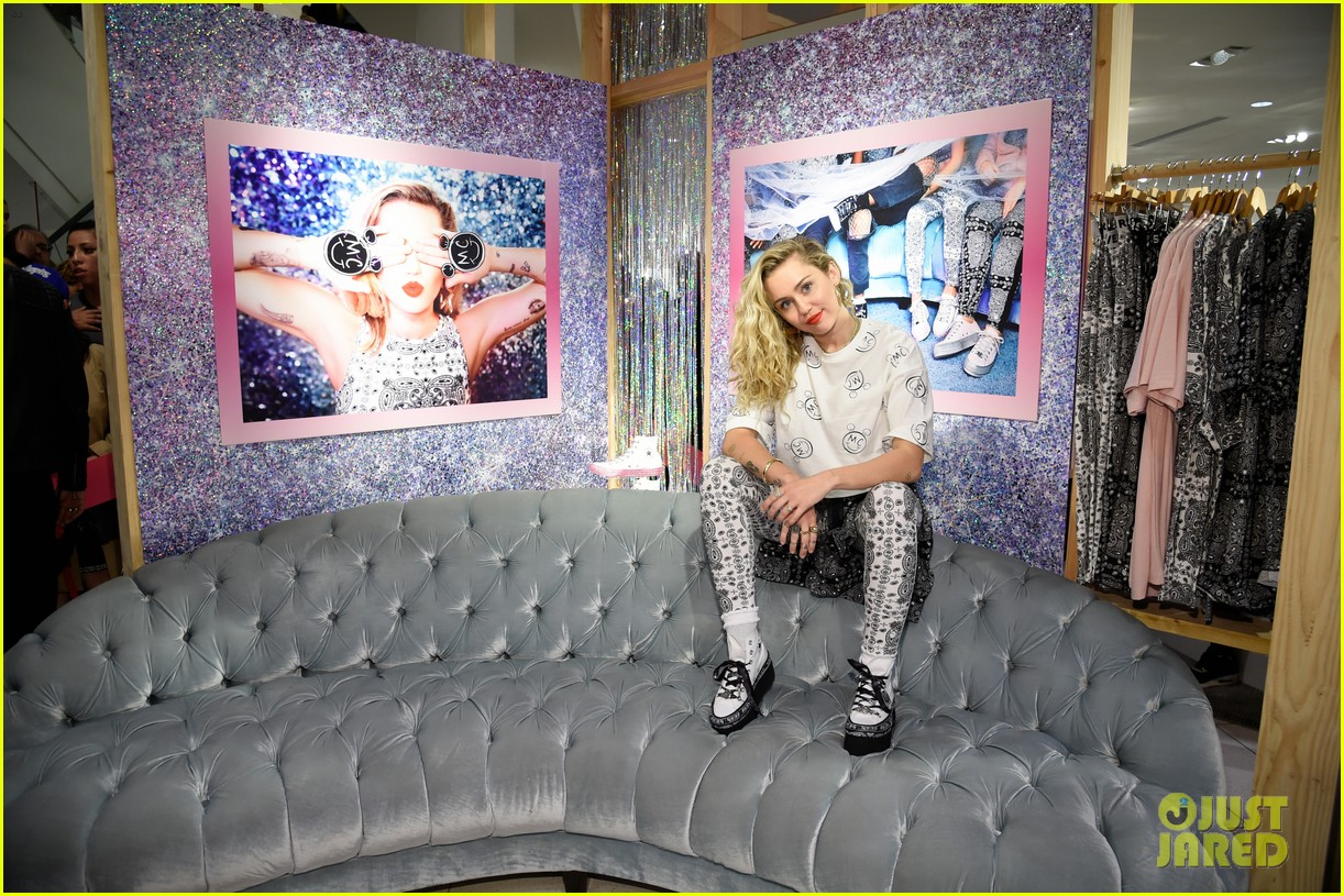 miley cyrus launches converse collection at the grove 10