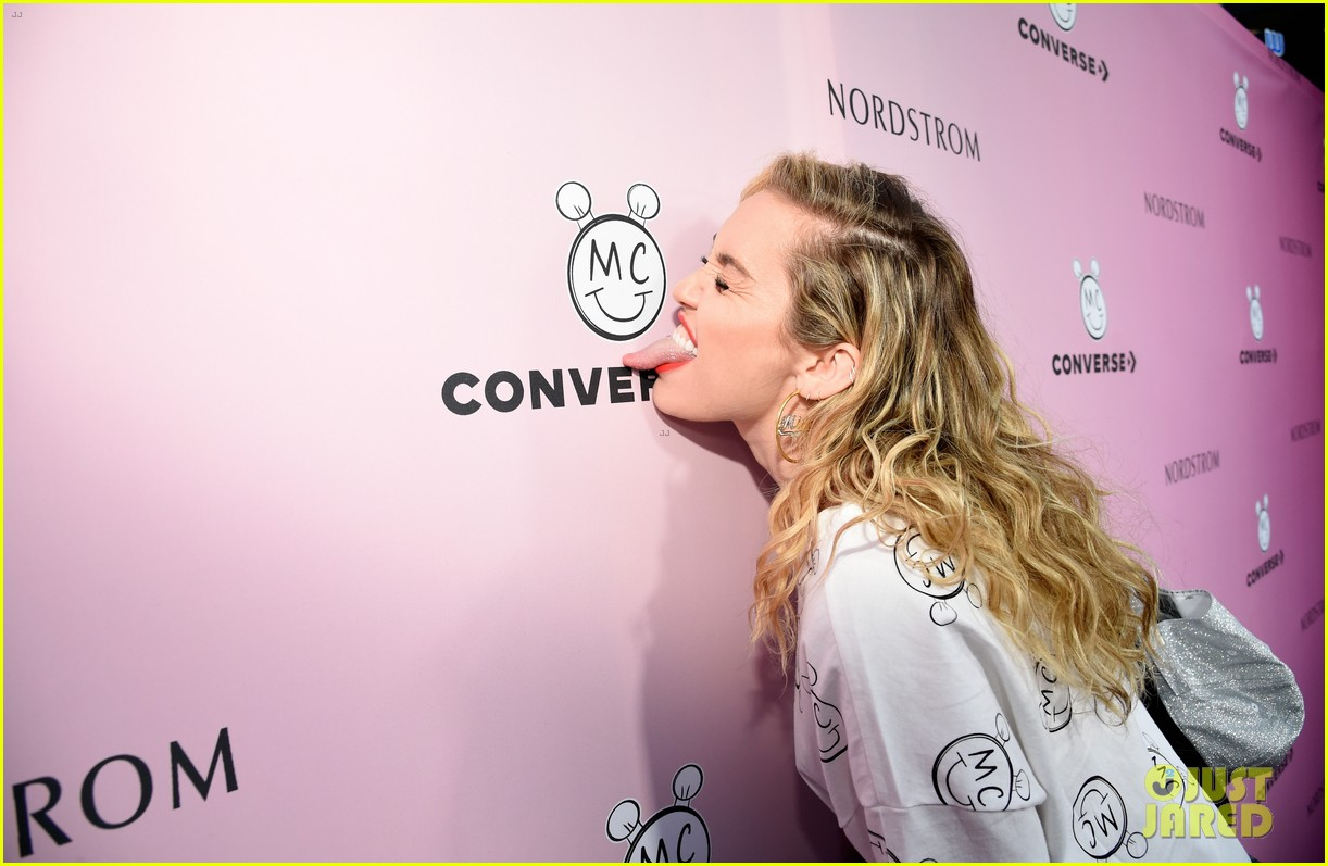 miley cyrus launches converse collection at the grove 16