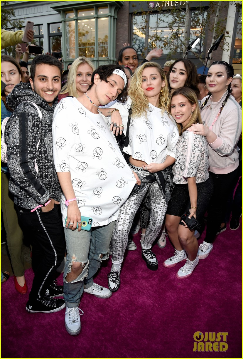 miley cyrus launches converse collection at the grove 20