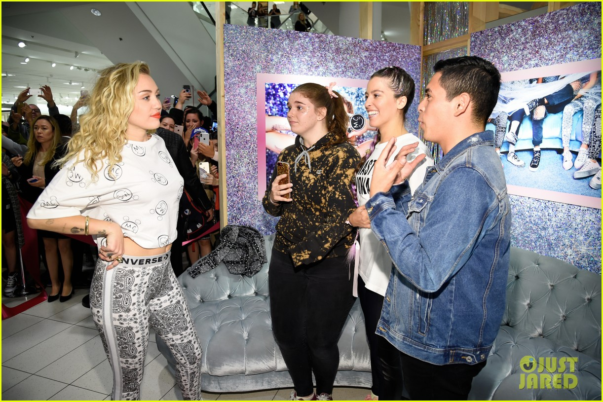 miley cyrus launches converse collection at the grove 30