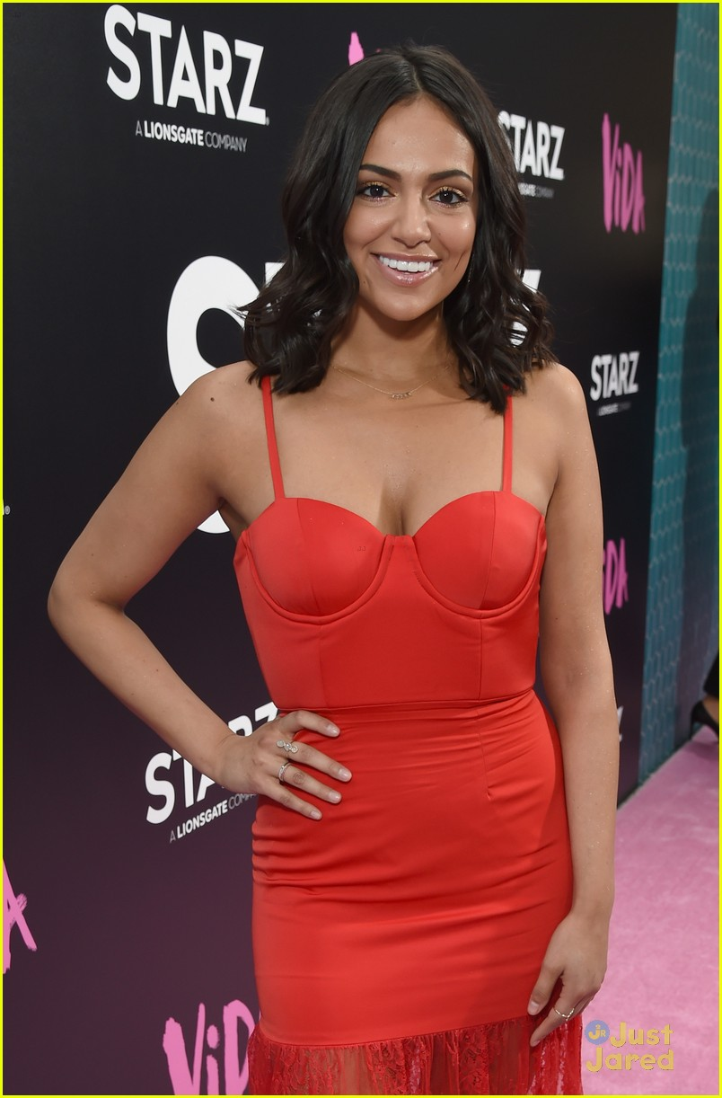 bethany mota red dress vida premiere celeb boss info 03