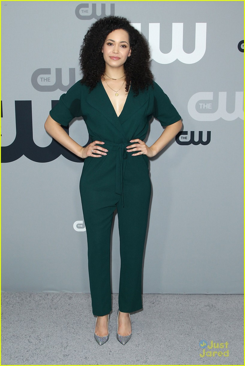 sarah jeffery first look charmed cw upfront 05