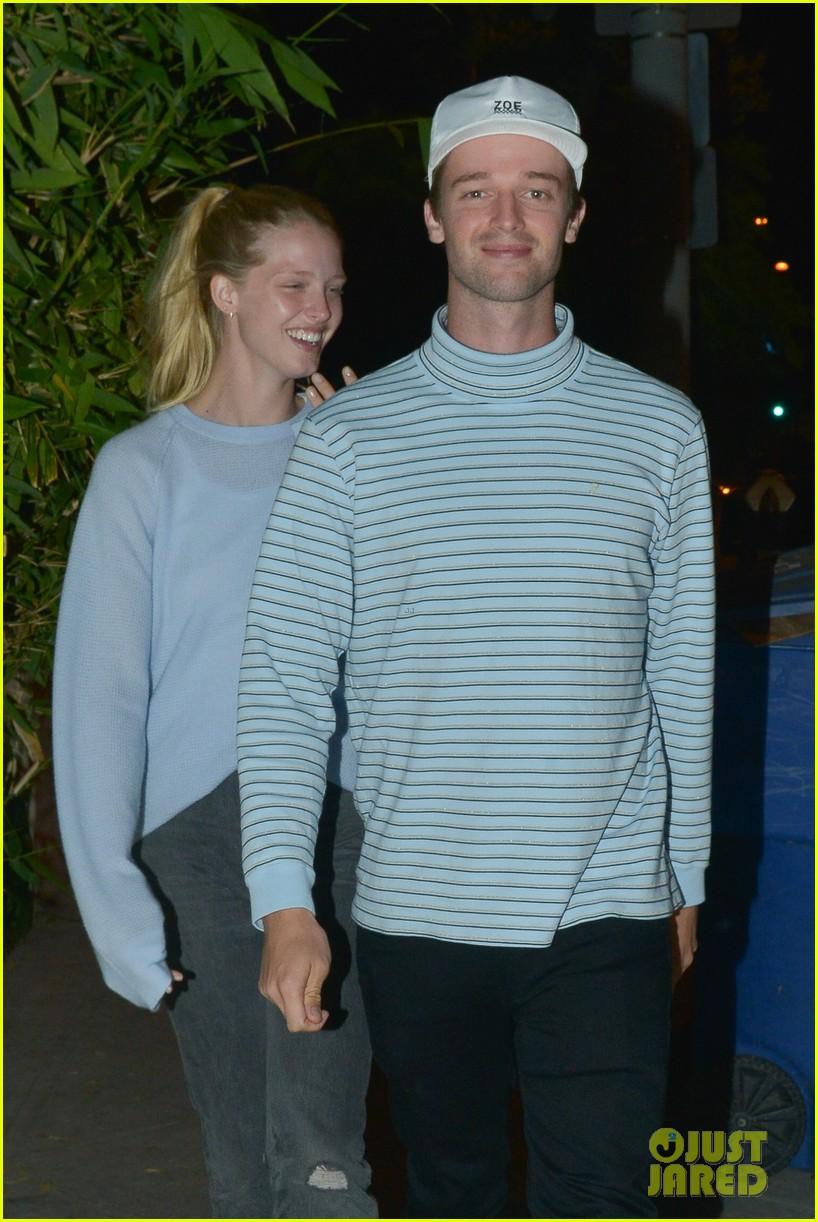 patrick schwarzenegger and girlfriend abby champion enjoy date night at craigs 02