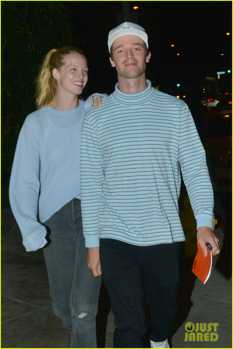patrick schwarzenegger and girlfriend abby champion enjoy date night at craigs 04
