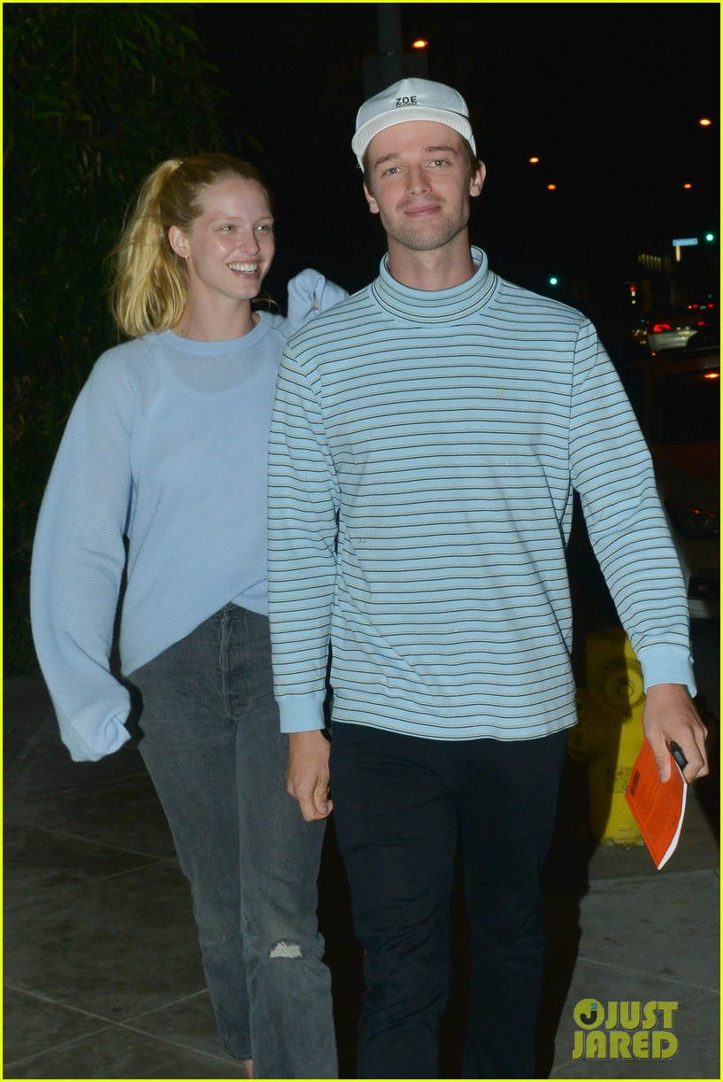 patrick schwarzenegger and girlfriend abby champion enjoy date night at craigs 08