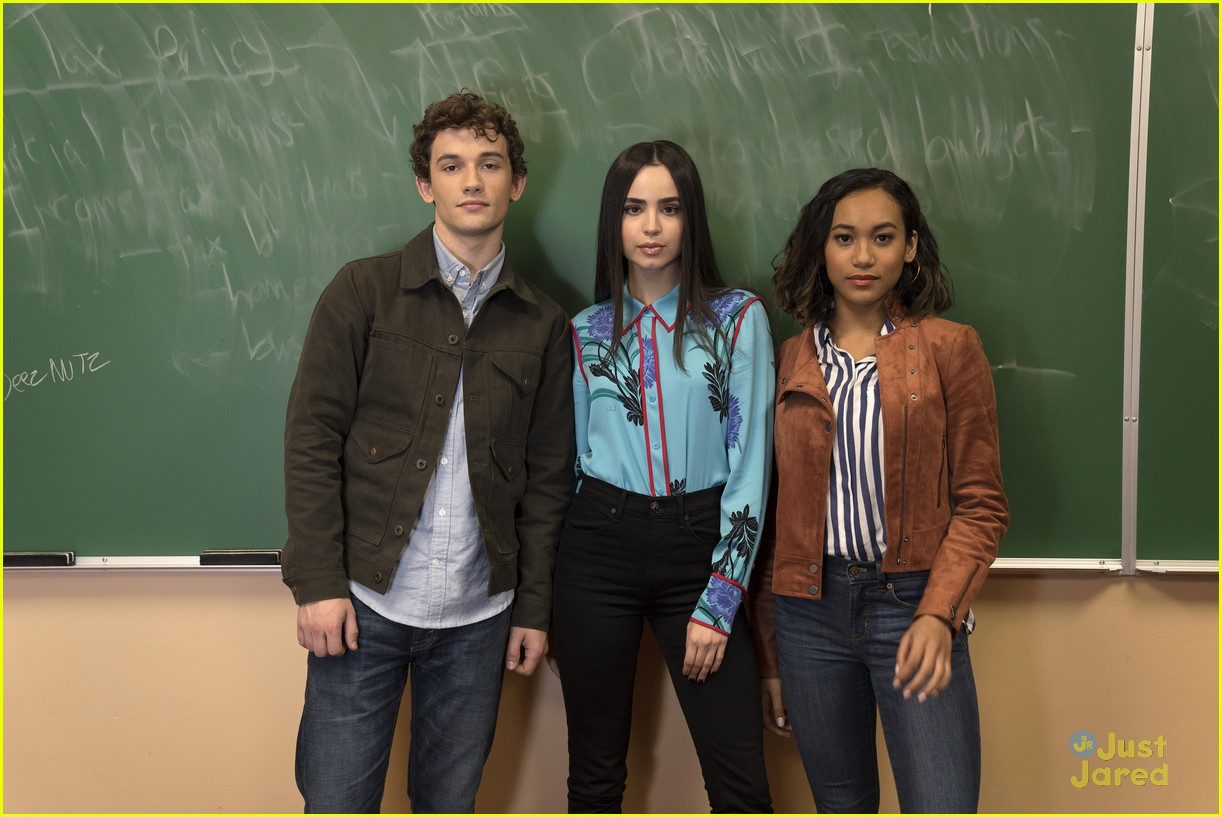 sofia carson perfectionists reactions cast former cast 01
