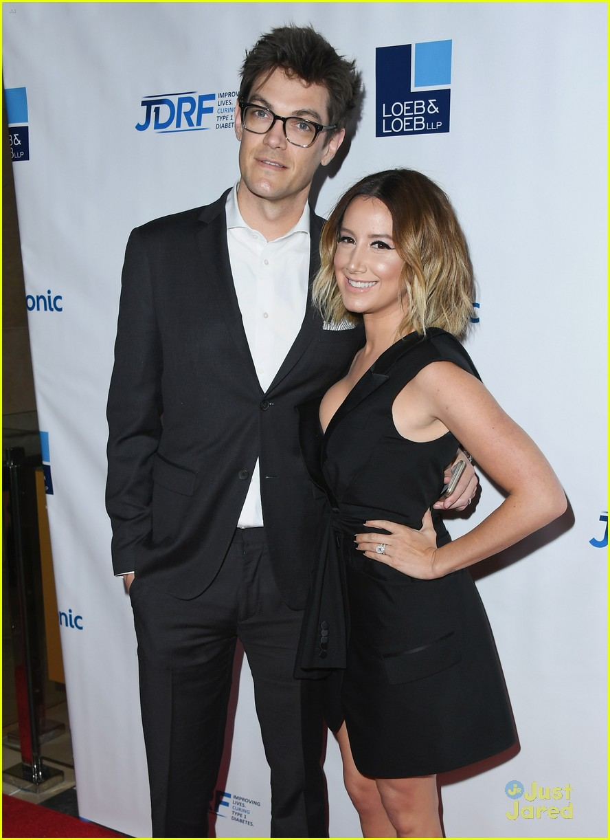 ashley tisdale christopher french jdrf diabetes gala 01
