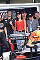tom brady bella hadid represent tag heur at formula one grand prix 05