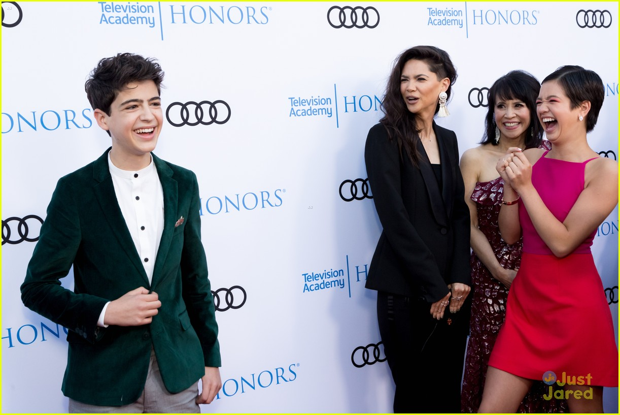 andi mack cast tv academy honors red carpet 02