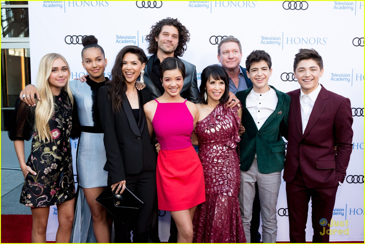 andi mack cast tv academy honors red carpet 05