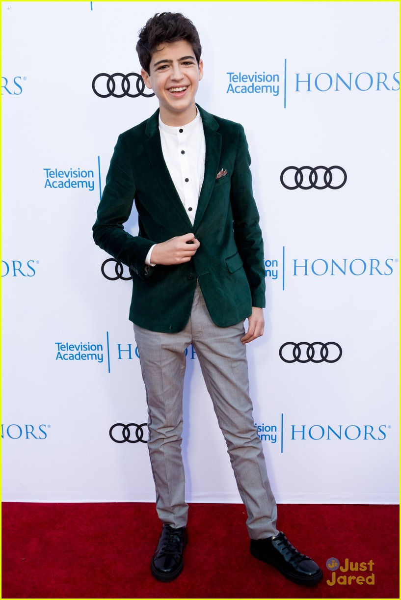 andi mack cast tv academy honors red carpet 17