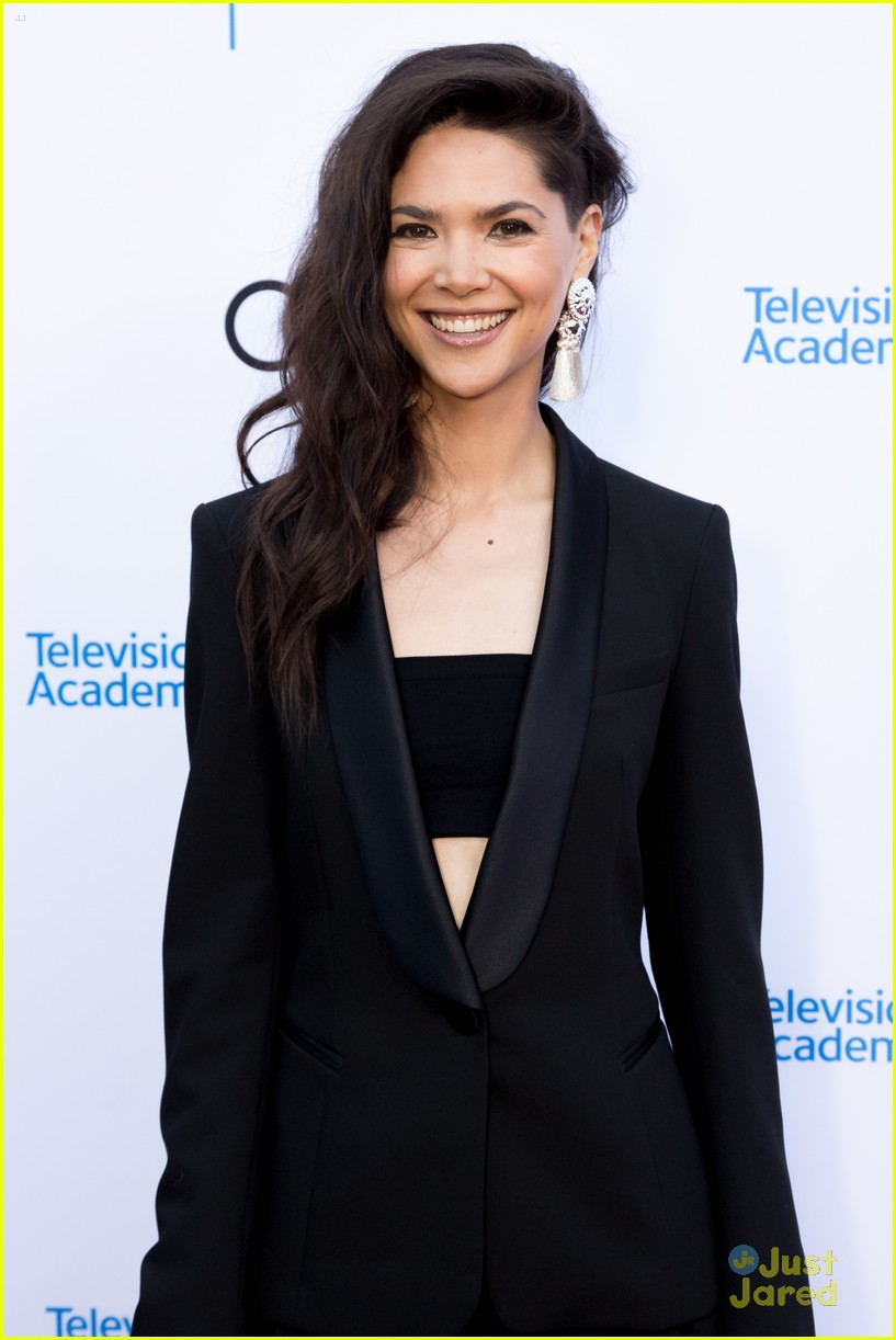 andi mack cast tv academy honors red carpet 18