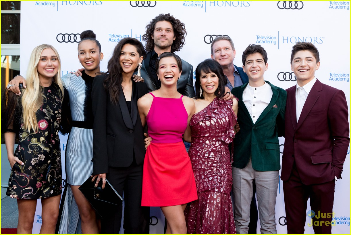 andi mack cast tv academy honors red carpet 24