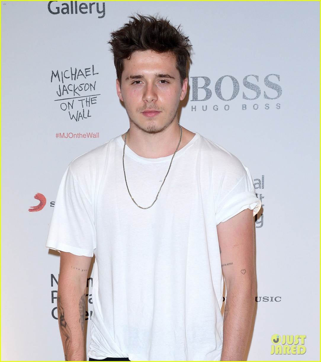 brooklyn beckham michael jackson exhibit 02