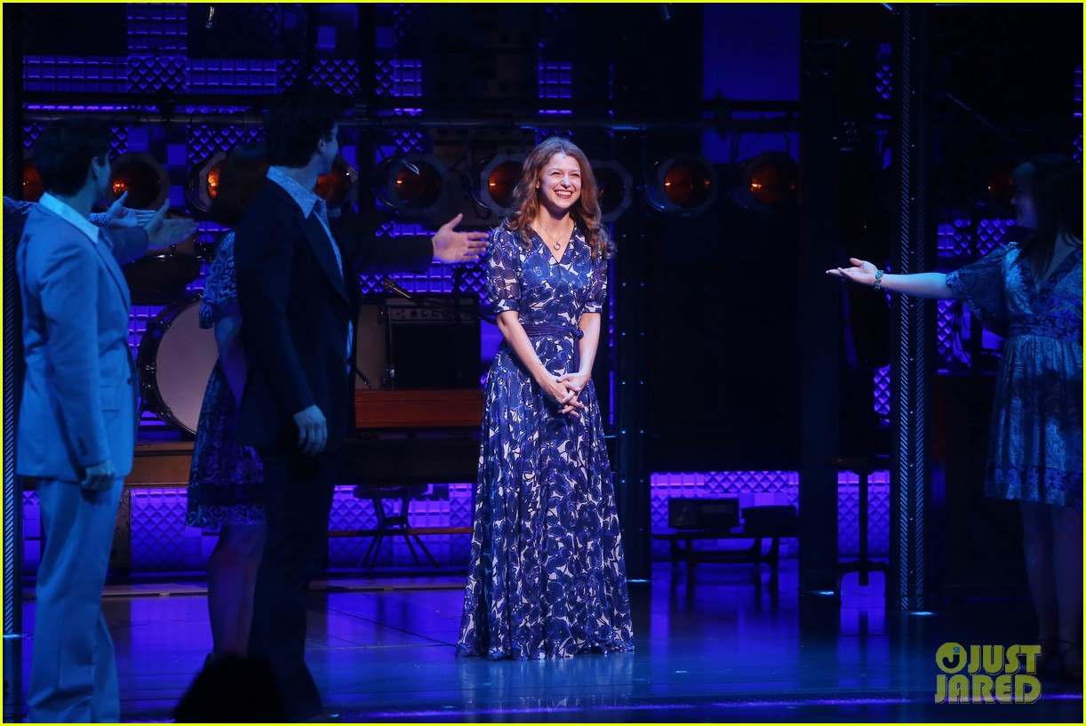 melissa benoist makes broadway debut in beautiful the carole king musical 06
