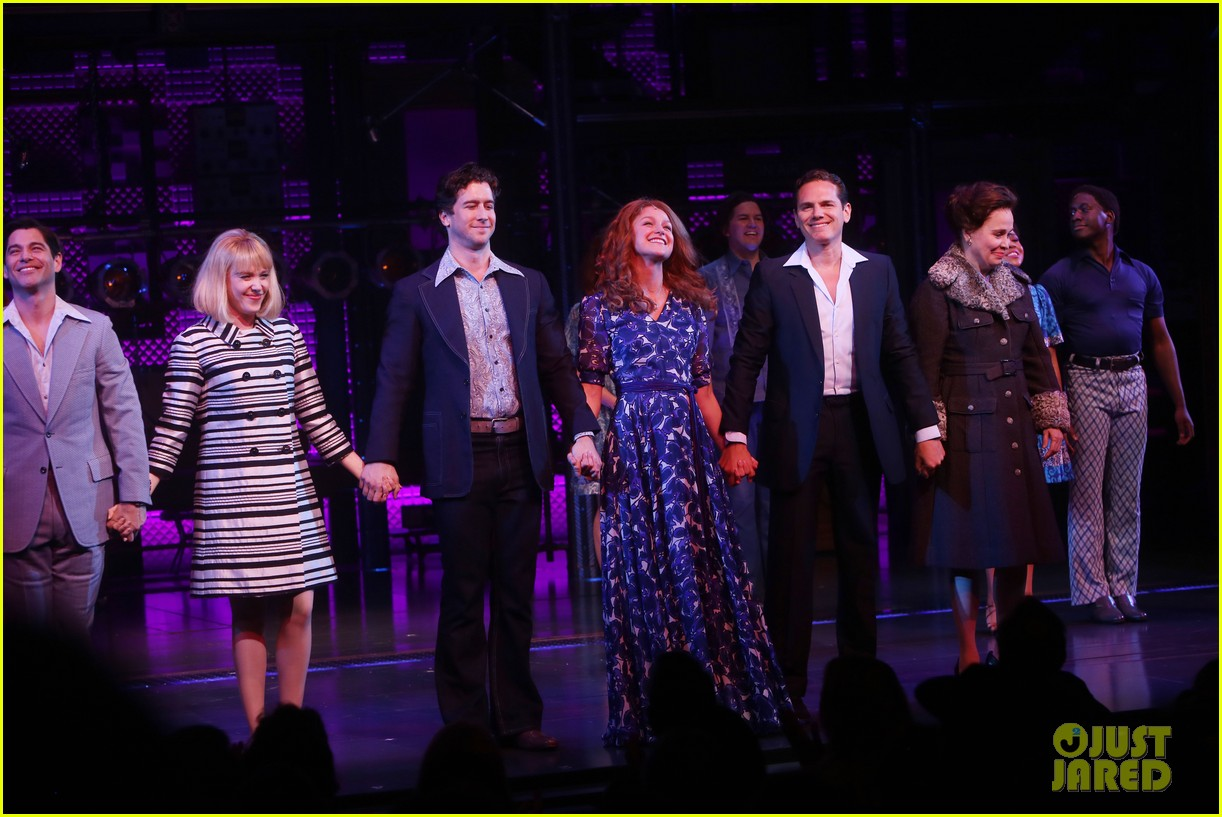 melissa benoist makes broadway debut in beautiful the carole king musical 08