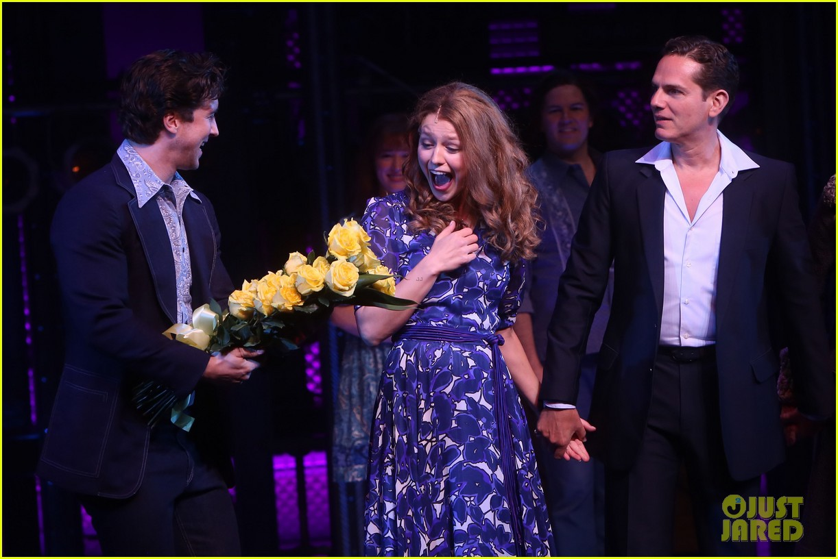 melissa benoist makes broadway debut in beautiful the carole king musical 09