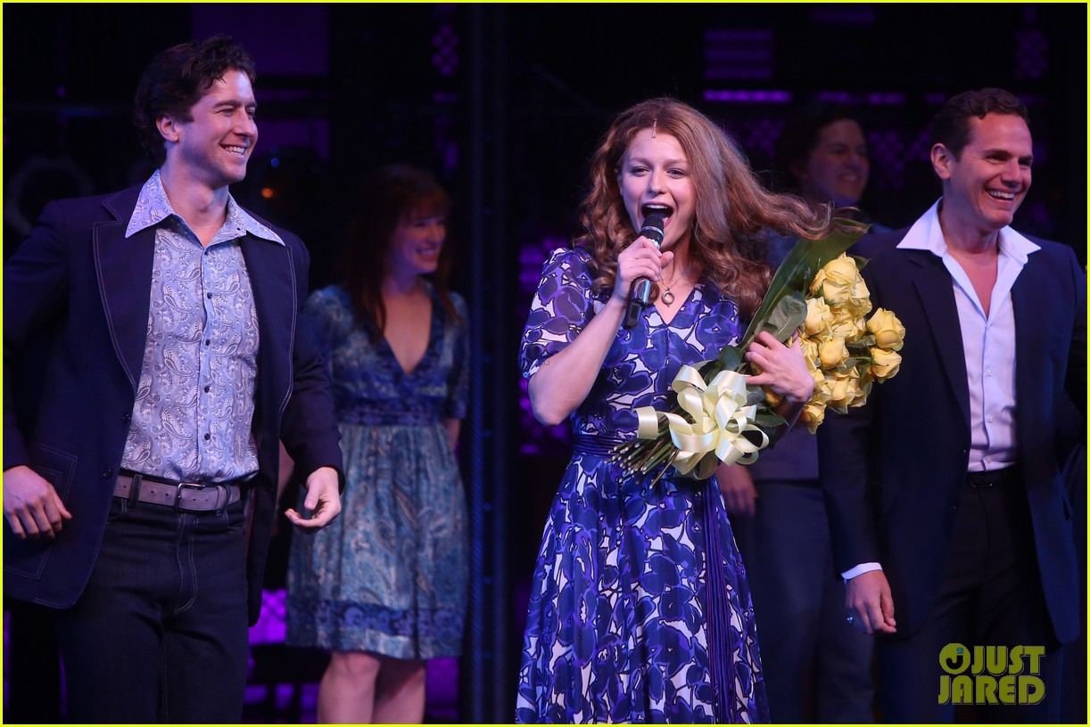 melissa benoist makes broadway debut in beautiful the carole king musical 10