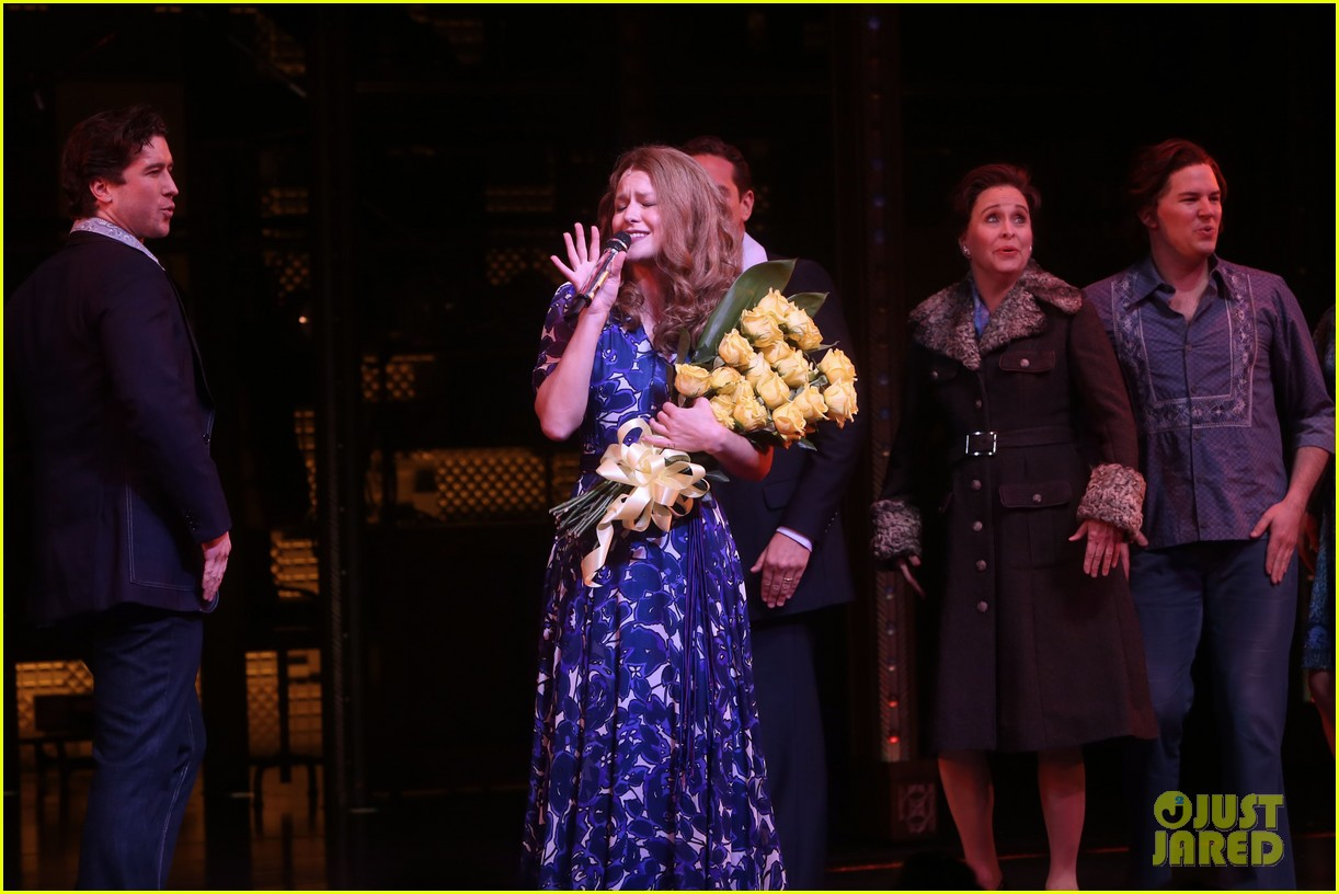 melissa benoist makes broadway debut in beautiful the carole king musical 12