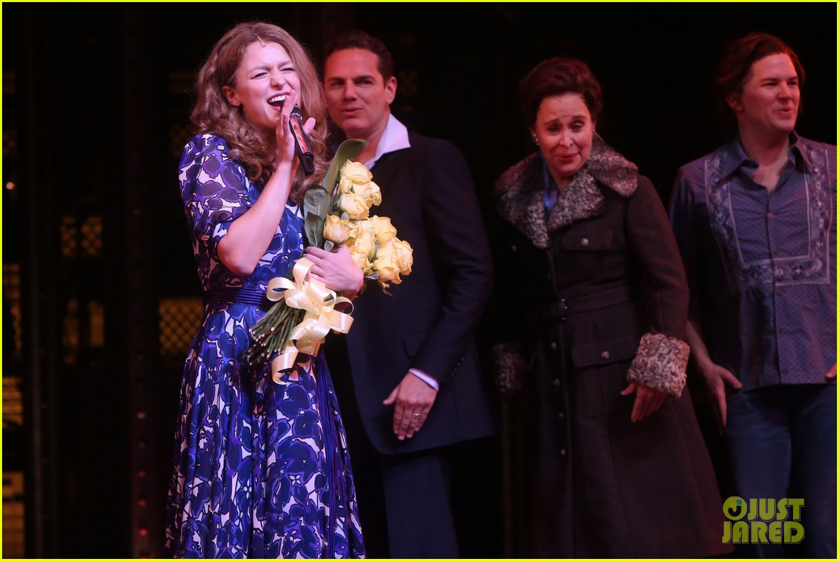 melissa benoist makes broadway debut in beautiful the carole king musical 13