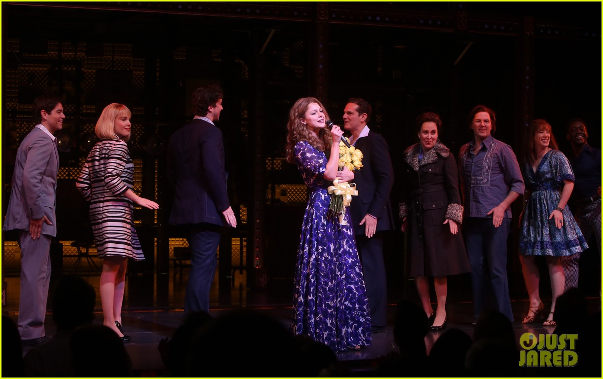 melissa benoist makes broadway debut in beautiful the carole king musical 14