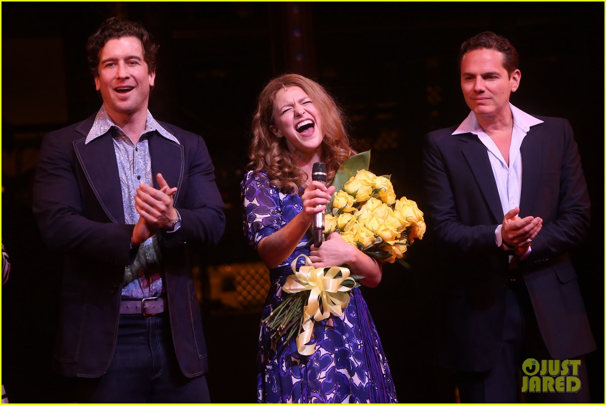melissa benoist makes broadway debut in beautiful the carole king musical 20