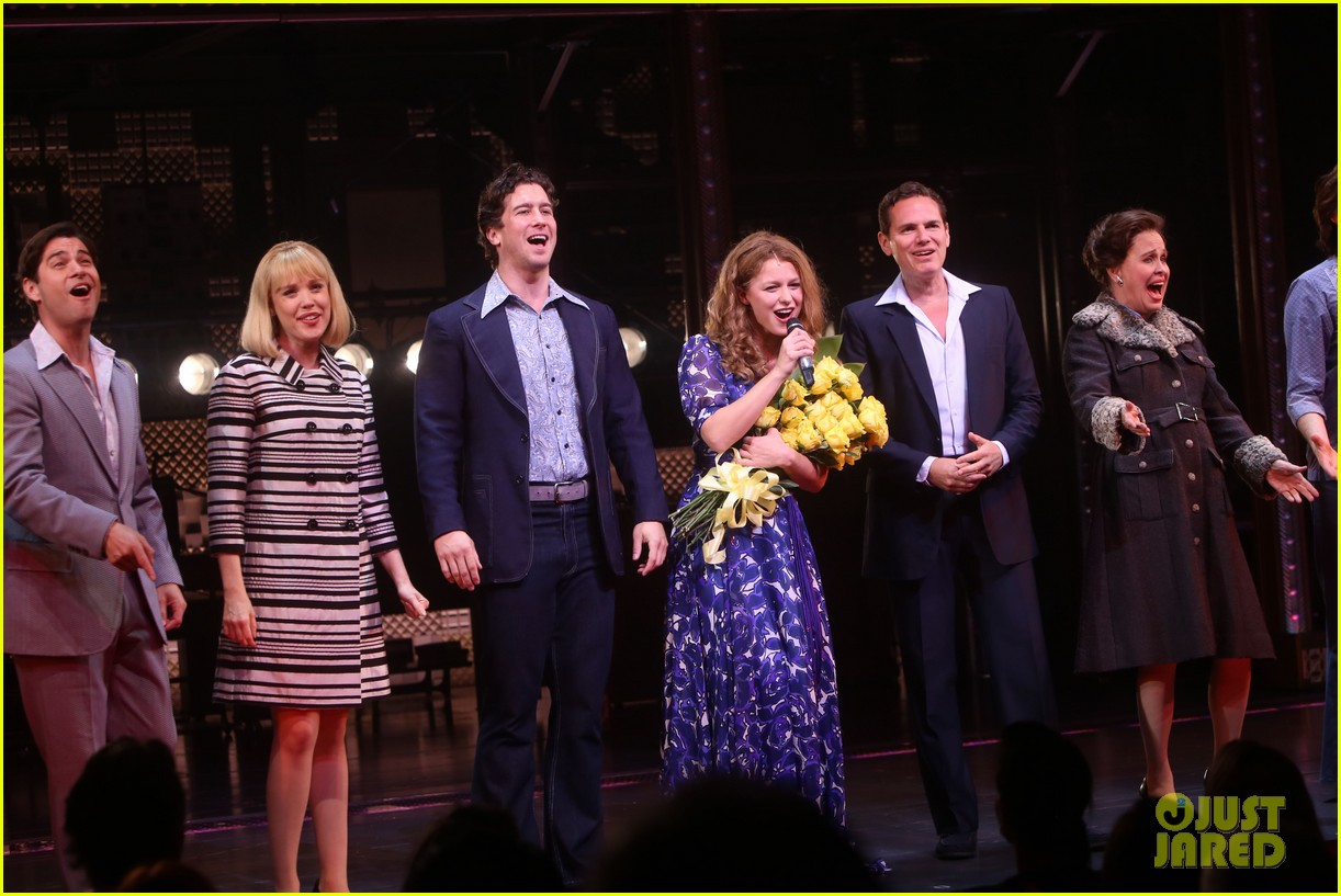 melissa benoist makes broadway debut in beautiful the carole king musical 22