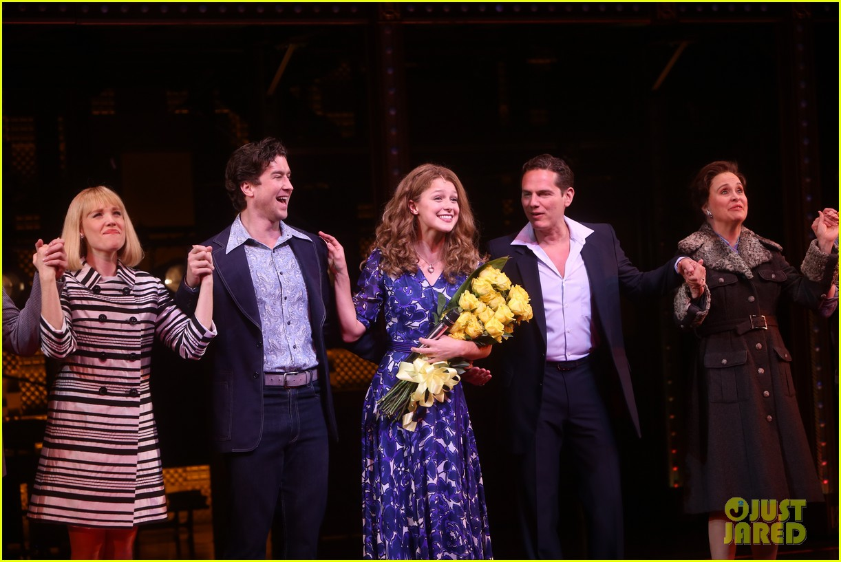 melissa benoist makes broadway debut in beautiful the carole king musical 23