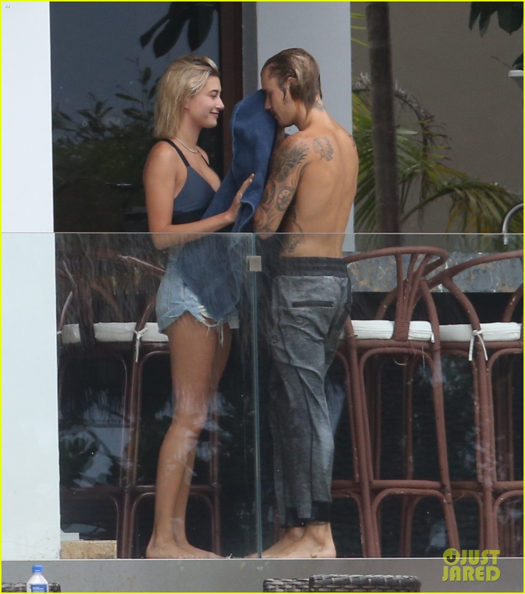 justin bieber gets cozy in miami with hailey baldwin 30