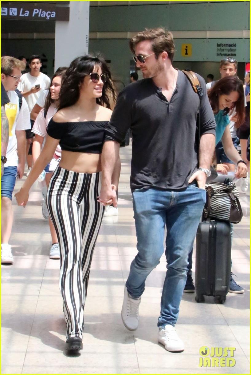 Camila Cabello Kisses Boyfriend Matthew Hussey In Spain Photo