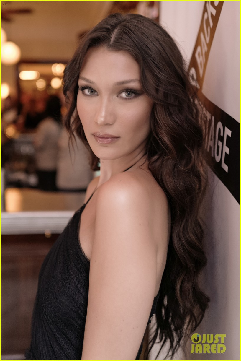 bella hadid stun at door event in nyc 05