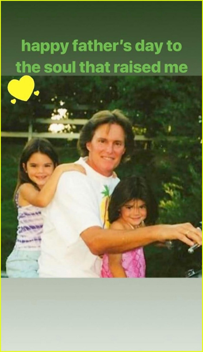 kendall kylie jenner wish caitlyn happy fathers day 03