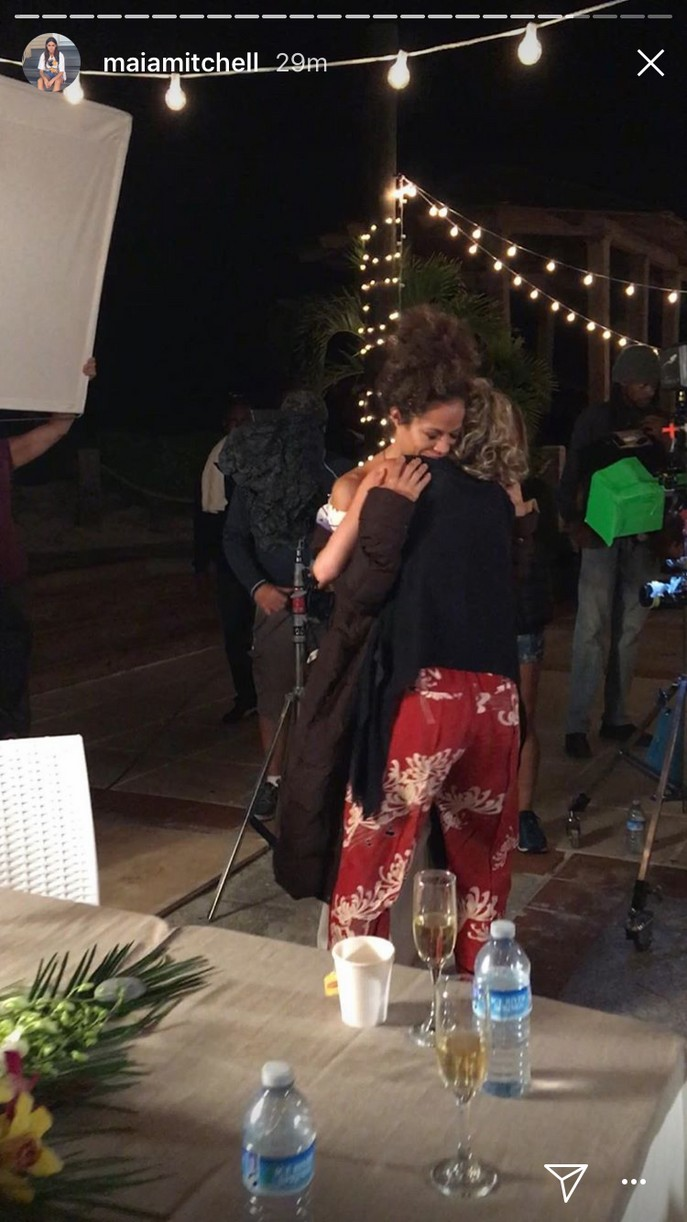 maia mitchell final day fosters filming pics 15