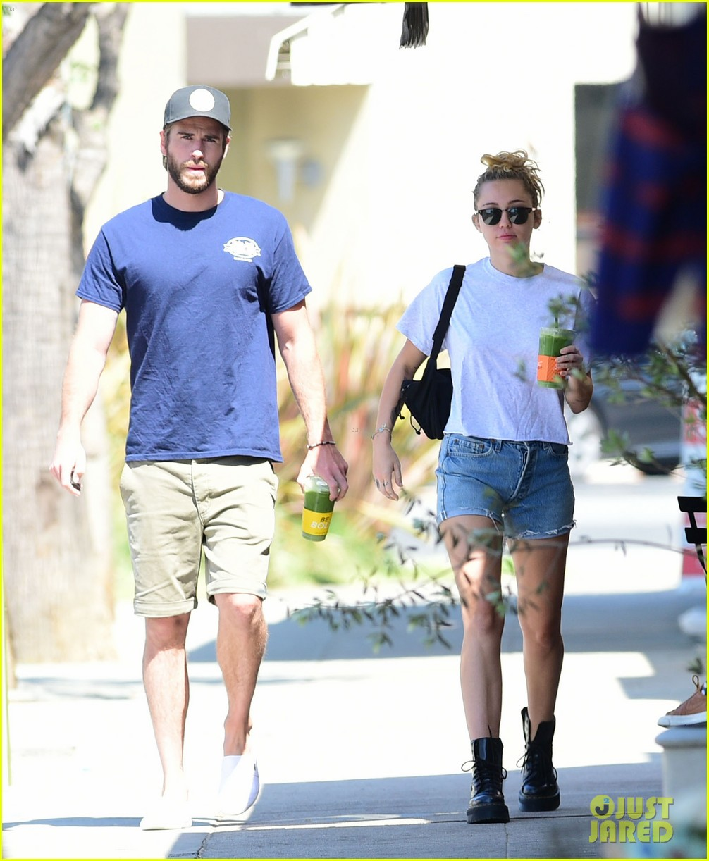 miley cyrus liam hemsworth wednesday photos 01